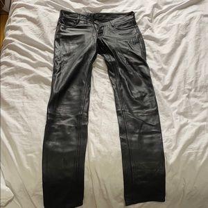 LAB Lamb Leather Pants